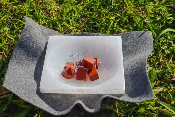 Goldstone Keychain - DeAli Creations