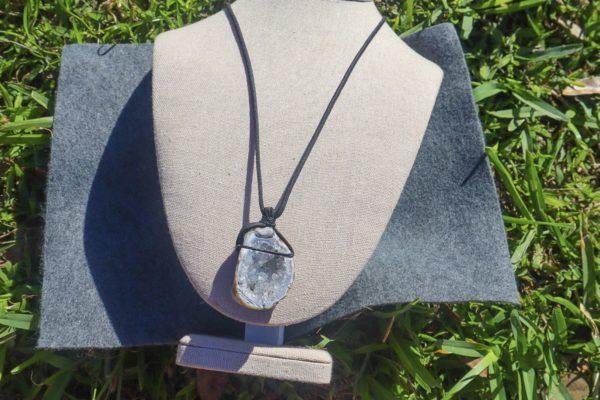 Oco Geode Half Necklace - DeAli Creations