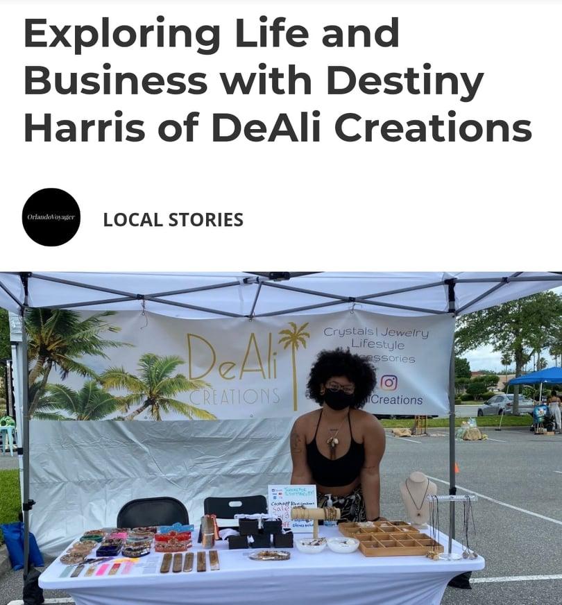 Destiny Harris - Orlando Voyager Magazine